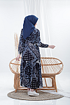 Homey Dress ETNICA NAVY
